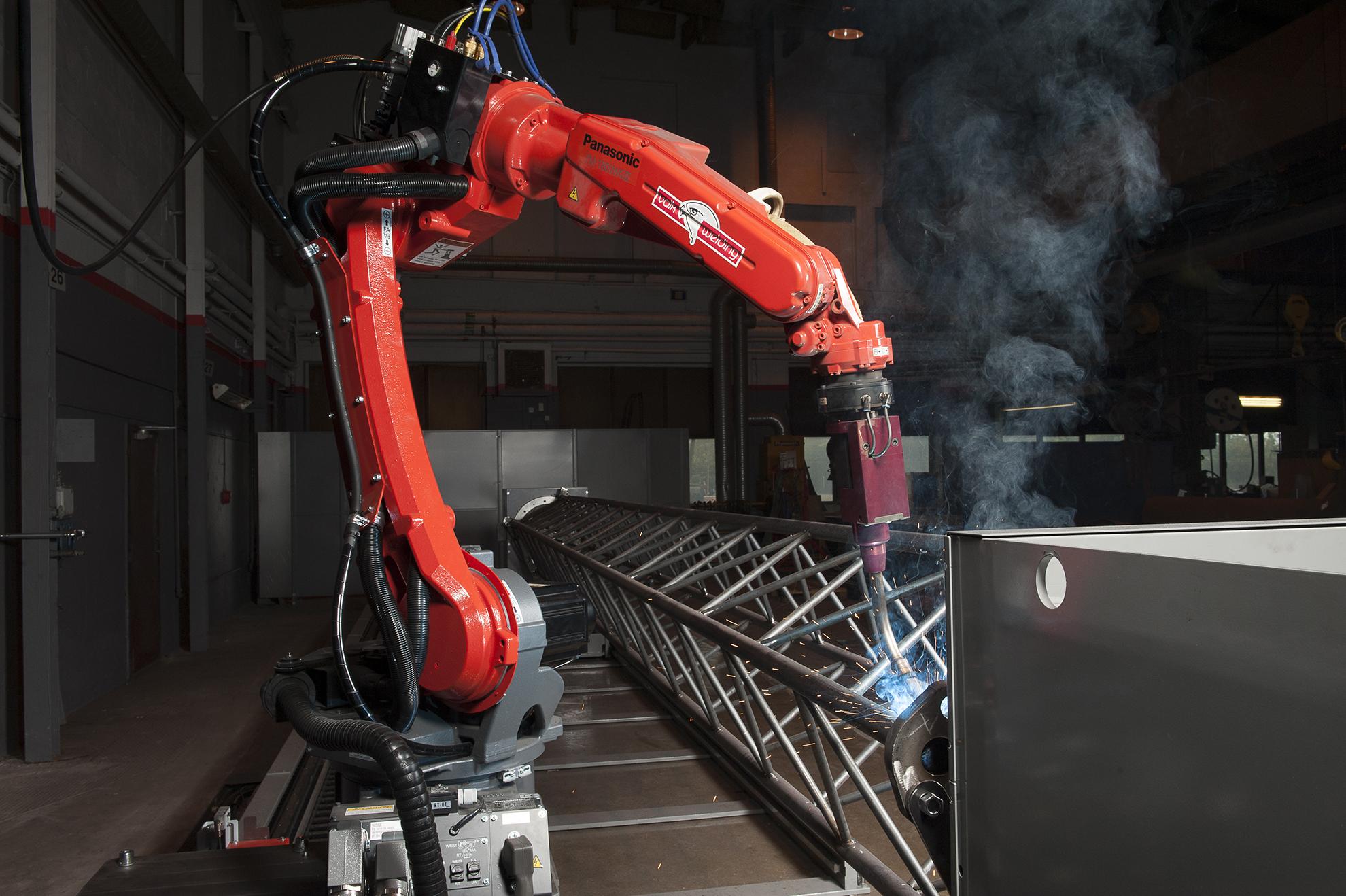 Robotsvetsning Höganäs Verkstad